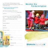 Werden Sie Fördermitglied - Diakonie Dresden