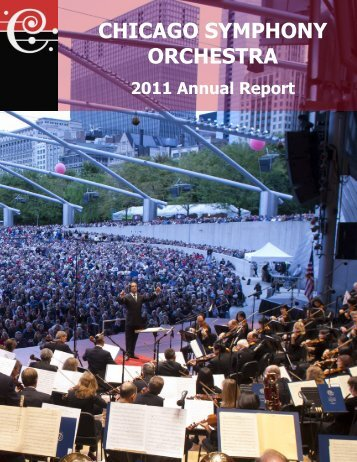 Chicago Symphony Orchestra Annual Report