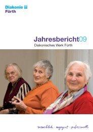 Diakonisches Werk Fürth - Jahresbericht 2009.indd - Diakonie Fürth