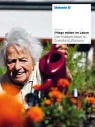 Pflege mitten im Leben Das Wichern-Haus in Düsseldorf-Flingern