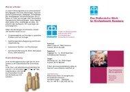 Unser aktueller Flyer zum Download - Diakonisches Werk des ...