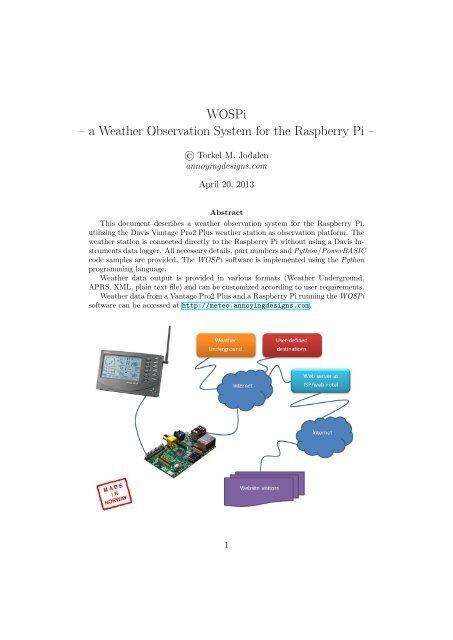 Aprs Weather Station Raspberry Pi - US Weather News