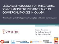 Design Methodology for Integrating Semi-Transparent Photovoltaics in