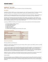 RHOPLEX AC-337N - The Dow Chemical Company