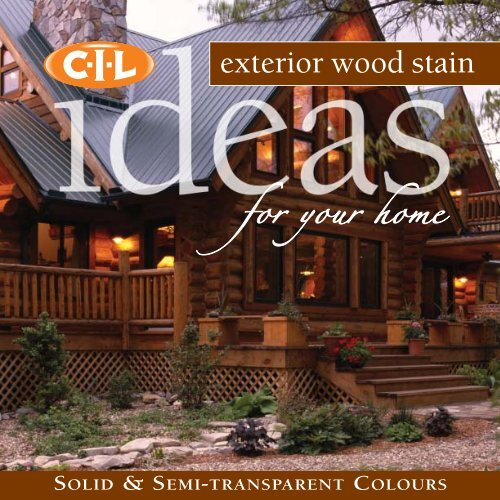 Exterior Wood Stain - CIL