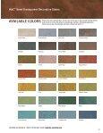 H&C® Semi-Transparent Decorative Stains - H&C Concrete - Page 2