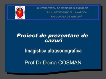 Lucrare practică 1 - Proiect de prezentare de cazuri