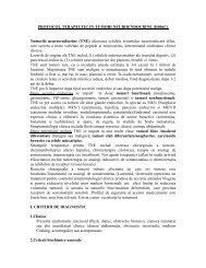 PROTOCOL TERAPEUTIC IN TUMORI ... - Despre APTNR