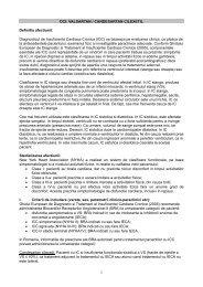 Diagnosticul de Insuficienta Cardiaca Cronica (ICC)