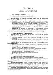 Protocol sarcina si valvulopatiile - Spitalul Clinic Municipal de ...