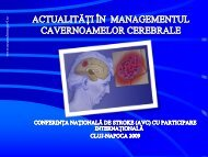 Actualitati in managementul cavernoamelor cerebrale