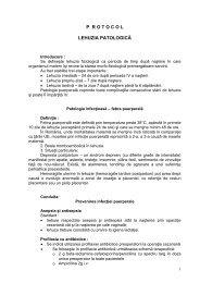 Protocol lehuzia patologica - Spitalul Clinic Municipal de Urgenta ...