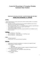 Protocol P-HTM-08- Hairy cell Leukemia- Dr.Leny Caban - SRH