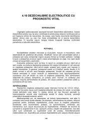 4.10 DEZECHILIBRE ELECTROLITICE CU PROGNOSTIC VITAL