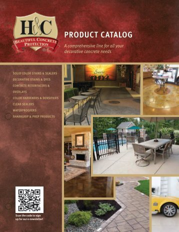 View Our Product Catalog - H&C Concrete