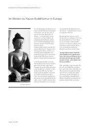 Im Westen zu Hause: Buddhismus in Europa - Diamantweg.de