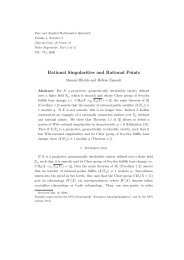 Rational Singularities and Rational Points