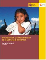 Actualización y Sistematización de la Estrategia de Genero - AECID