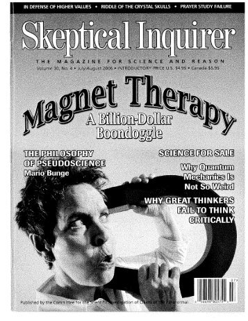 Skeptical Inquirer - The Singularity is Near