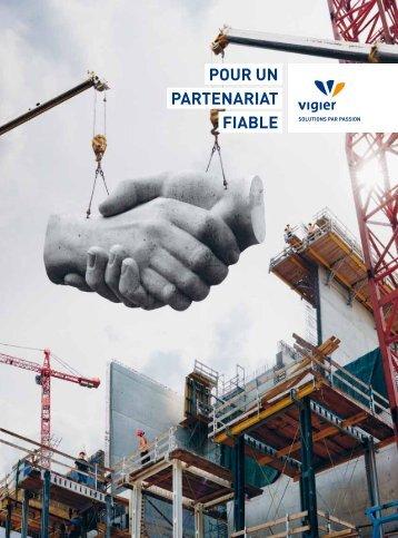 POUR UN PARTENARIAT FIABLE - Vigier Holding AG