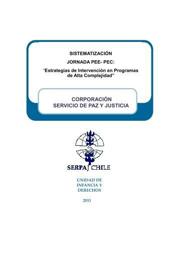Sistematización Jornada PEE-PEC - Serpaj Chile