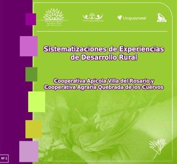 Sistematizaciones de Experiencias de Desarrollo Rural ...