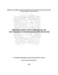 Proyecto Educativo del Programa - Universidad Distrital Francisco ...