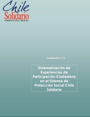 Sistematización de Experiencias de Participación ... - Chile Solidario