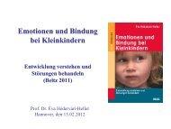 Emotionen und Bindung bei Kleinkindern - Didacta