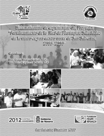 Sistematización de la experiencia en San Salvador. - Fundacion ...