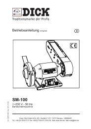 SM-100 - Friedr. DICK