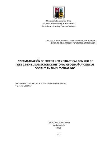SISTEMATIZACIÓN DE EXPERIENCIAS DIDACTICAS ... - Kelluwen