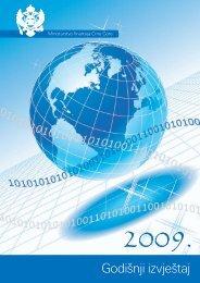 Godišnji izvještaj - Ministarstvo finansija