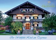 Ihr Wohlfühl-Hotel am Tegernsee - Hotel Alpensonne