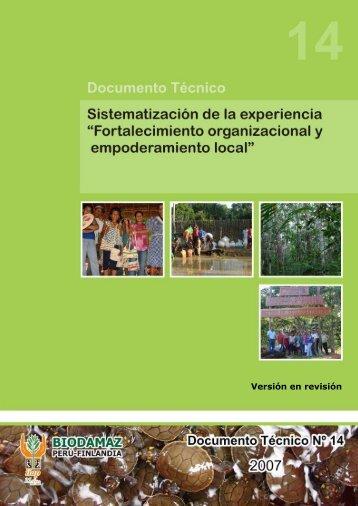 Esquema para sistematización - Instituto de Investigaciones de la ...