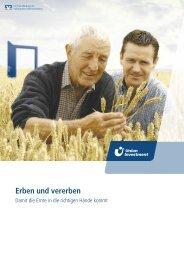 Erben und vererben - Union Investment