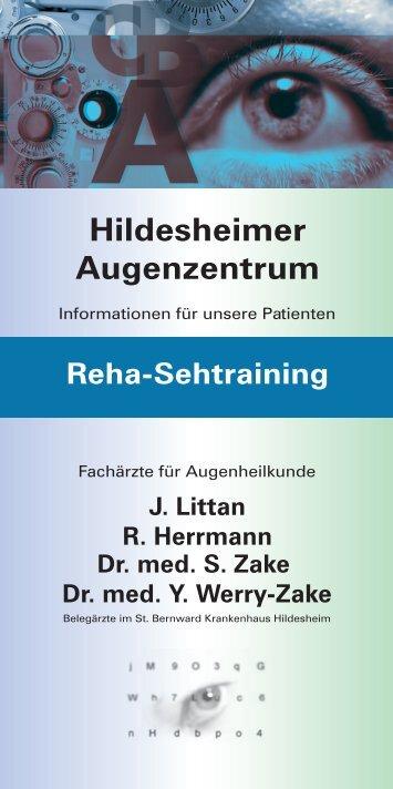 Orthoptikabteilung/Sehschule - Hildesheimer Augenzentrum