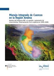 Manejo Integrado de Cuencas en la Región Andina - Fonag