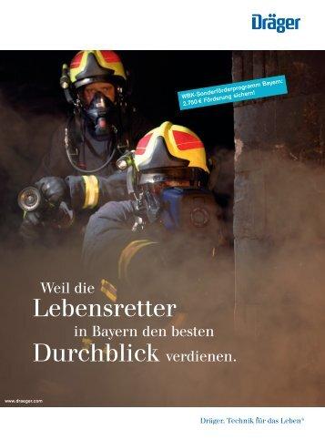 Lebensretter Durchblick verdienen. - Feuerwehr