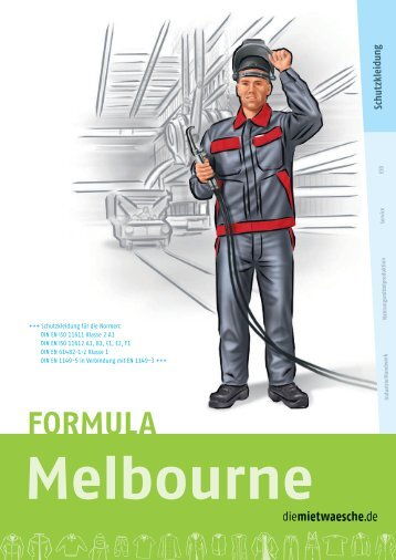FORMULA Melbourne - diemietwaesche.de