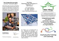 Integrationsprojekt Interkulturelle Trainings und Coachings