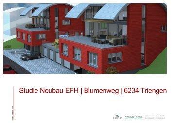 Obergeschoss - Architekturbüro W. Imfeld
