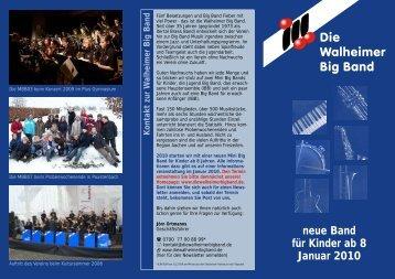 Info Broschüre 2009.cdr - Die Walheimer Big Band