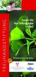 TREUHANDSTIFTUNG - Die Wiesbaden Stiftung