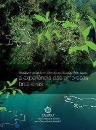 Biodiversidade e serviços ecossistêmicos: a experiência - cebds