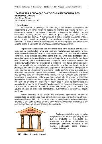 """1 """"BASES PARA A ELEVAÇÃO DA EFICIÊNCIA REPRODUTIVA ..."""