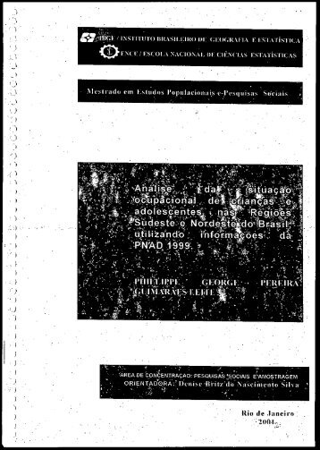 Texto completo - LEP - IBGE