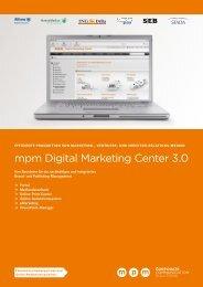 mpm Digital Marketing Center 3.0 - mpm - media process ...