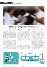 Bilddaten-Management im Krankenhaus - Imagic Bildverarbeitung AG