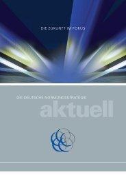 Die Deutsche Normungsstrategie aktuell - DIN Deutsches Institut für ...